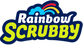 Rainbow Scrubby Logo